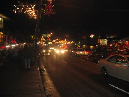 Gatlinburg during Winterfest!